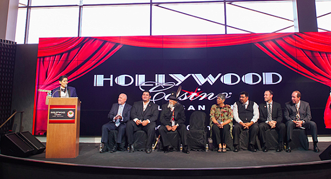 Hollywood Casino grand opening