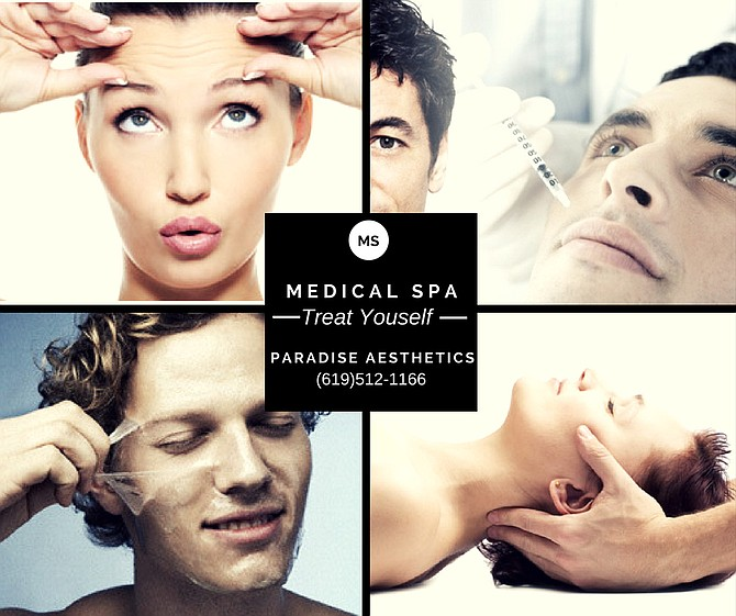 Call to make an appointment at paradise aesthetics (619)512-1166