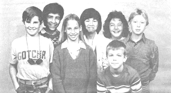 Front row: Jan Peterson, Tanya Wann, R.J. Wenger; back row: Jason Ruiz, Holly Tran, Lana Jager, Jason Salmons