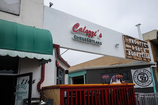 This inconspicuous, new Pacific Beach storefront houses Philly-class cheesesteaks