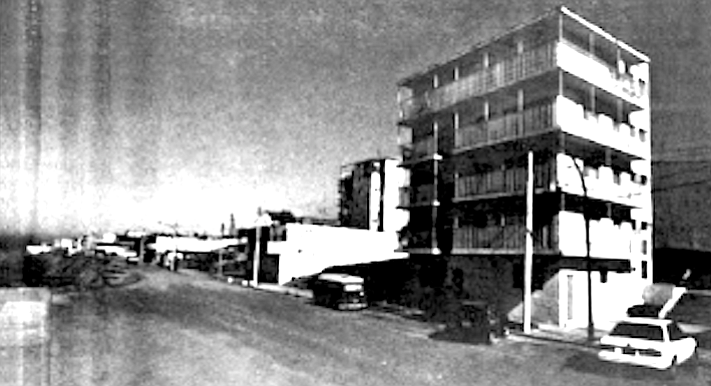 Gibson's apartment on Paseo Costero, Playas de Tijuana