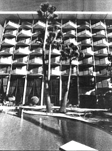 "Plaza Hotel pool. ""That hotel ran at eighty-six percent occupancy from 1976 through the 1980s,"" says Buckner. ""DePhilippis had a built-in trade of 400 people a day."""