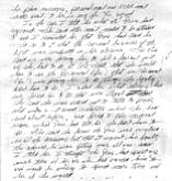 Sally Roush's handwritten notes, July 30