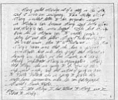 Sally Roush's handwritten notes, July 17