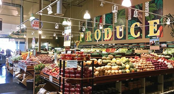 Produce section at Jimbo's