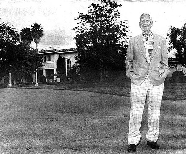 C. Arnholt Smith, along with Horton Plaza's developer Ernie Hahn, built San Diego's Fashion Valley mall in 1969.