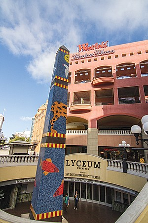 New Lyceum Theater. Wilson worked out a deal in which the developer hollowed out a concrete shell buried under the mall for a two-theatre complex, called the Lyceum.
