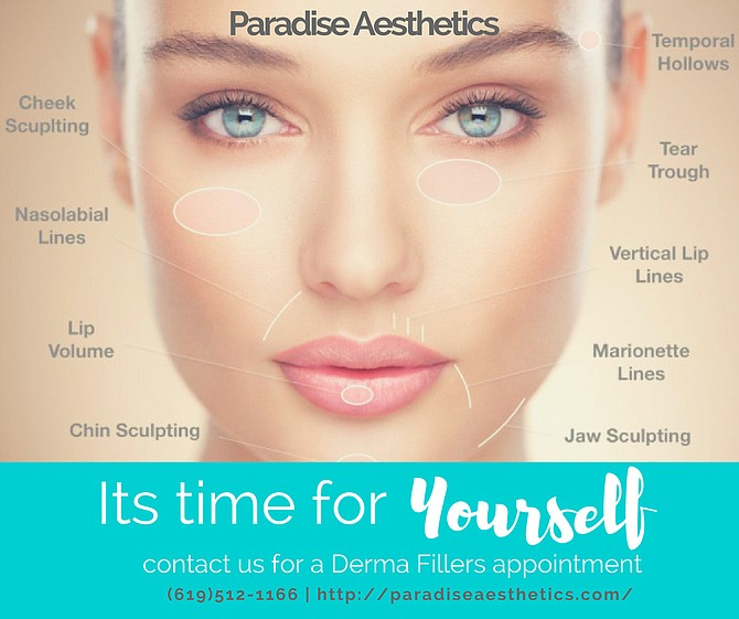 Its time for yourself. call paradise Aesthetics (619)512-1166