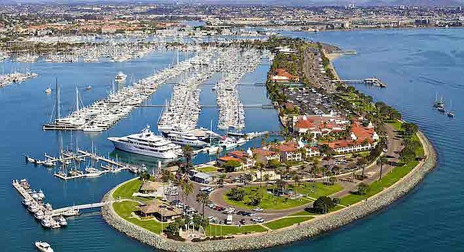 Investigate domestic violence incident at Kona Kai Marina. The subjects were separated for the night.