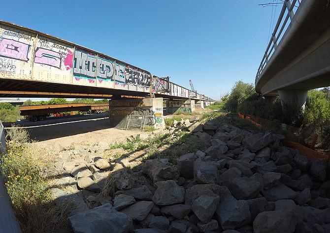 Bridges over San Diego River Valley (Frank Bruce)