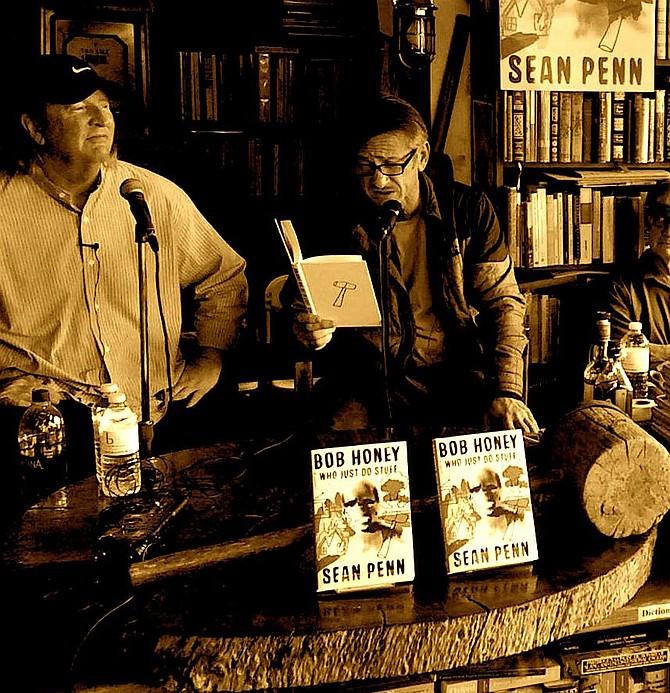 Sean Penn @ DG Wills Bookstore