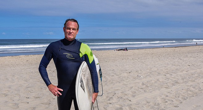 Cory I Wanted To Go A Good School With Waves Mission Beach Surf