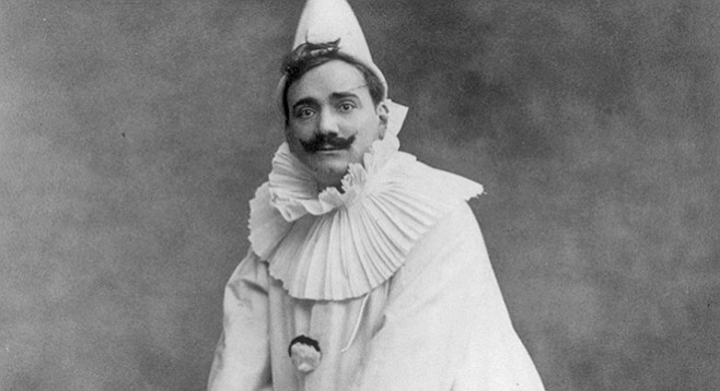 Enrico Caruso rocked a hipster 'stache.