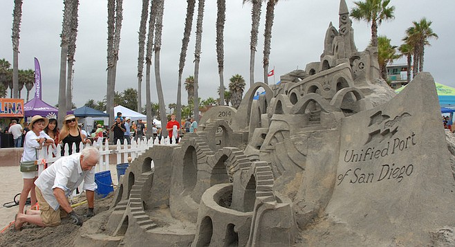 Sandcastles — the perfect metaphor for a thing constructed that will not last