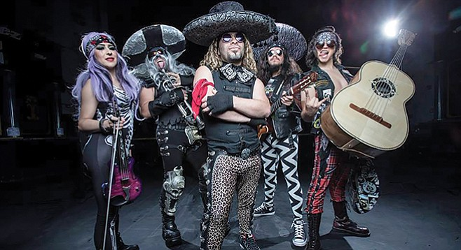 Metalachi: The world's first and only heavy metal mariachi band.