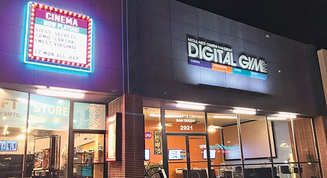 The Digital Gym turns five, and with it comes a new marquee!