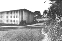 Rohr building, Pt. Loma campus. The names of the buildings at Point Loma form a roster of leading San Diegans in the Fifties and Sixties: Morley Golden, Irving Salomon, Ewart Goodwin, T. Claude Ryan, Henry Boney, William H. Evans, Harold Starkey, Robert J. Taylor, and Fred Rohr.