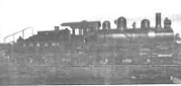 SD&A's first locomotive, October 1909
