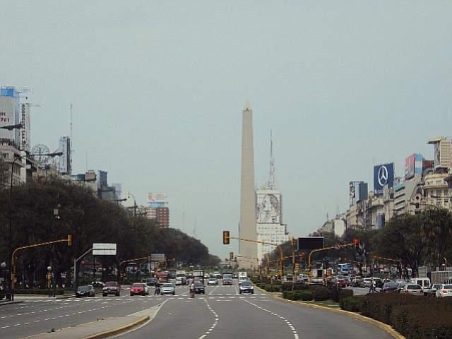Named after Argentina's Independence Day, 9 de Julio is the widest avenue in the world.