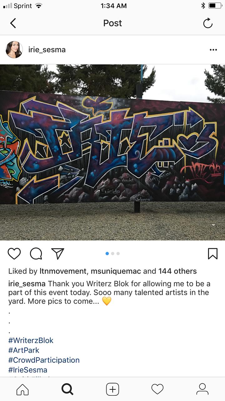 Irie Sesma's posting