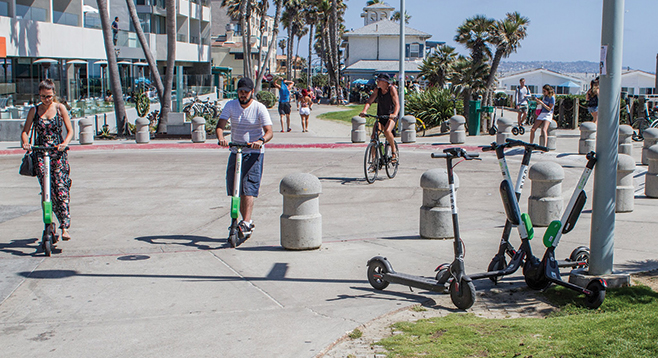 You won't get rich charging Lime scooters | San Diego Reader