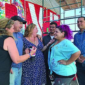Support crew - Erika, Edwin, Brittnee, Carlos, Melody, Will.