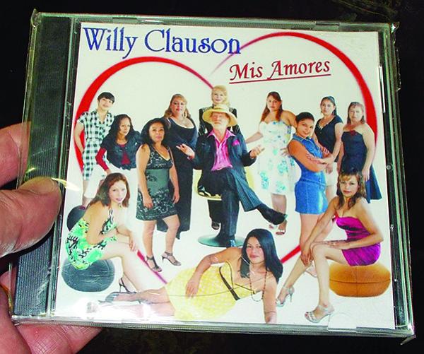 One of his many Tijuana recordings