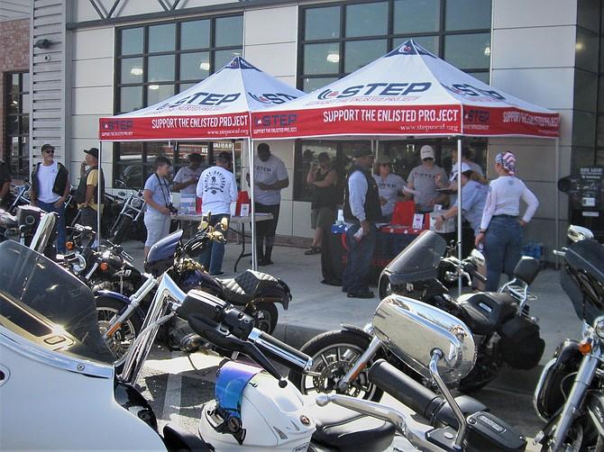 STEP set up at El Cajon Harley-Davidson