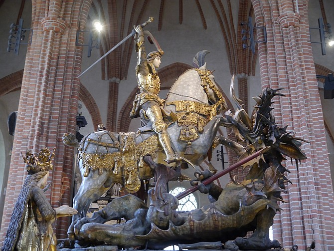 St. George and the Dragon.
