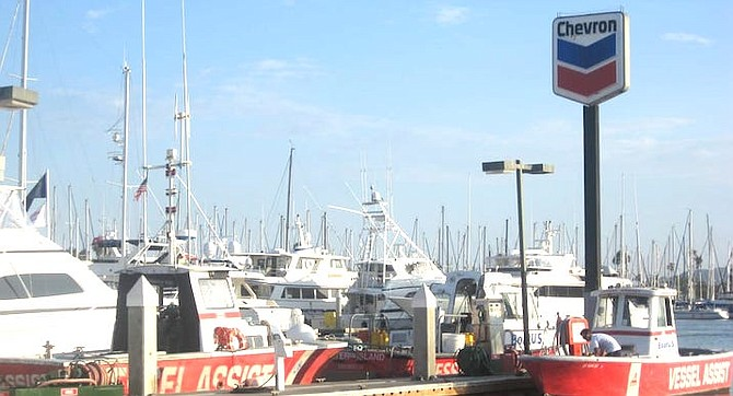Harbor Police were called to Pearson's fuel dock for an adrift dinghy.