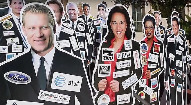Cox's NASCAR initiative would make Sacramento pols wear donor logos.