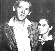 Jerry Lee Lewis and bride