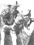 Roy Rogers, Trigger, and Dale Evans