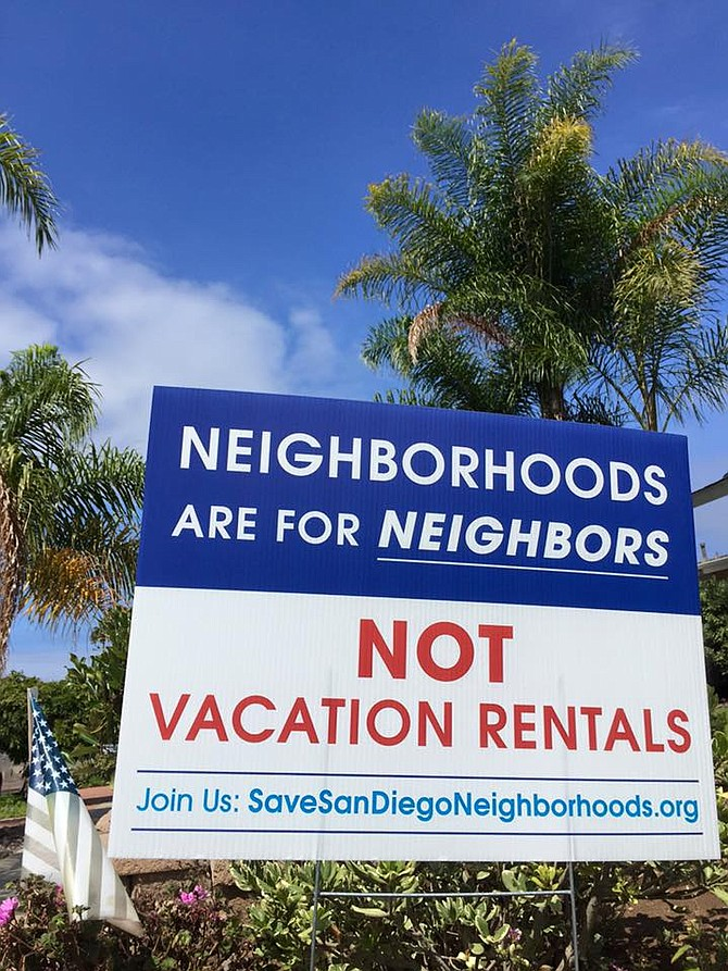 """A property owner can make a host out of his wife, his children, his friends, or a random straw man who gets a piece of the action. Those hosts could live anywhere in the world. They never have to step foot in San Diego. All they have to do is sign a lease giving them the right to occupy the space, and then apply for the permit."""