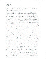 Page 2 of CA Coastal Commission letter to city, sent out July 13 (Friday).