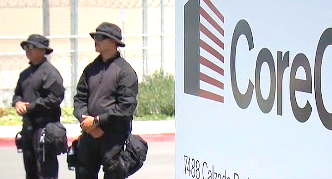 CoreCivic. An Atkins spokesman said the disgorgements were made after the June launch of an online petition against private prison contributions.