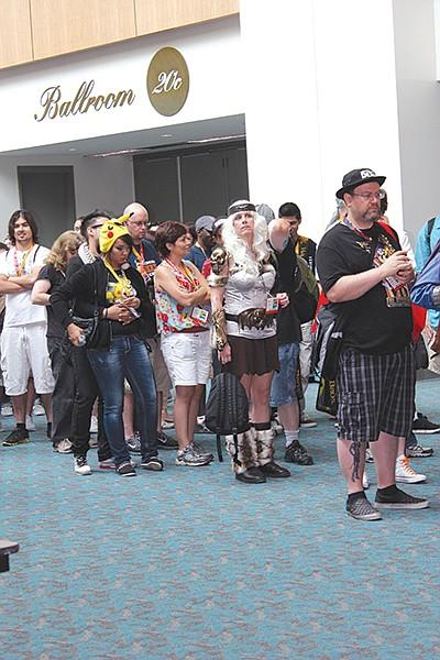 Comic-Con lines