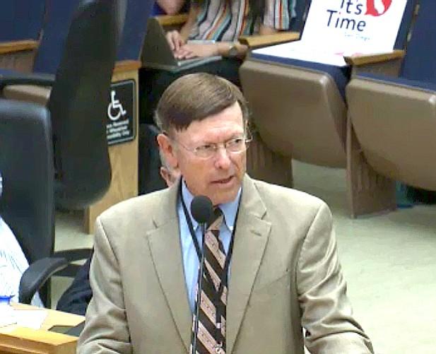 Former city attorney turned Airbnb lobbyist, Jan Goldsmith.