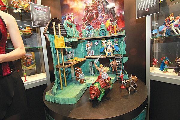 Mattel He-man castle