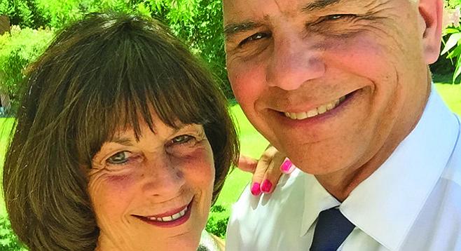 Mike Wallman and wife Joni