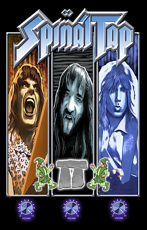 That Was Spinal Tap comic book cover courtesy Acme Ink