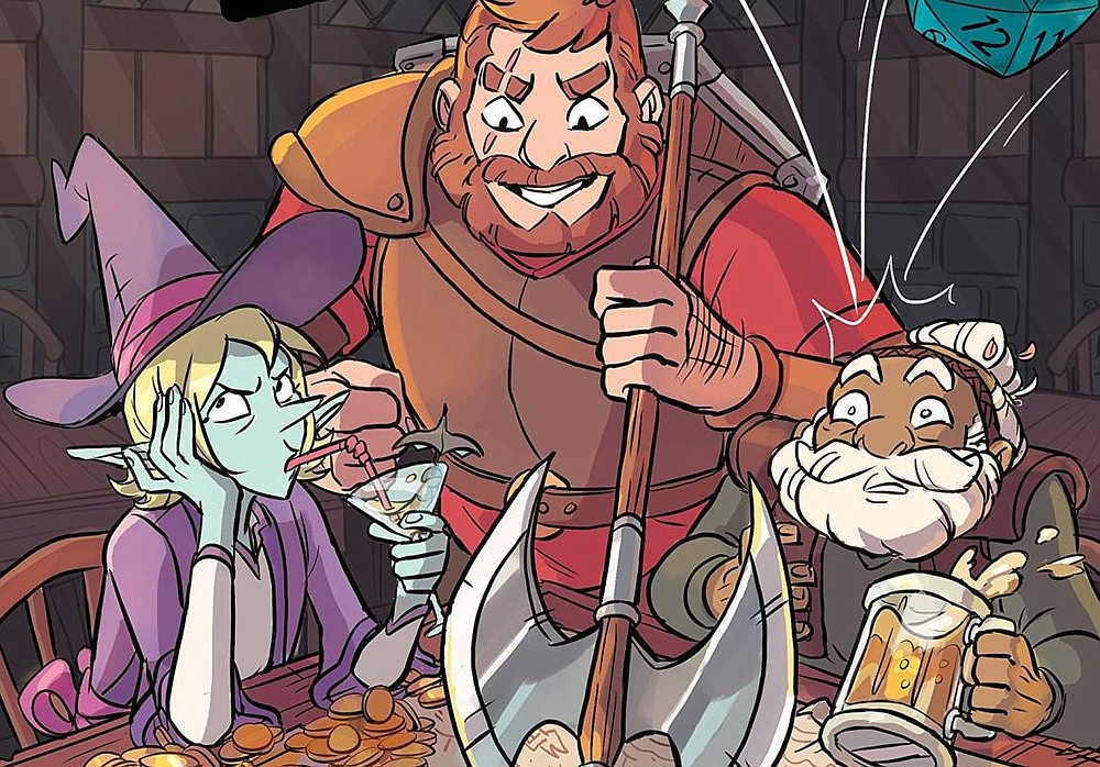 Adventure Zone: Here There Be Gerblins at Observatory North Park on Friday, July 20 – Adventure Zone promo art courtesy First Second