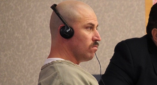 Sergio Sanchez Alvarez frowned throughout his hearing.