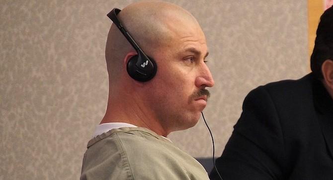 Sergio Sanchez Alvarez frowned throughout his hearing.