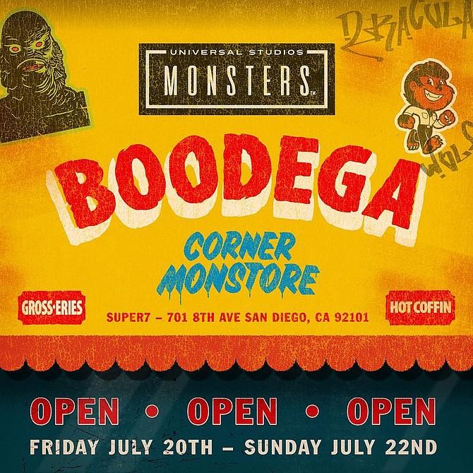 Universal Studios Monster Boodega, Thursday through Sunday evenings at the Super7
