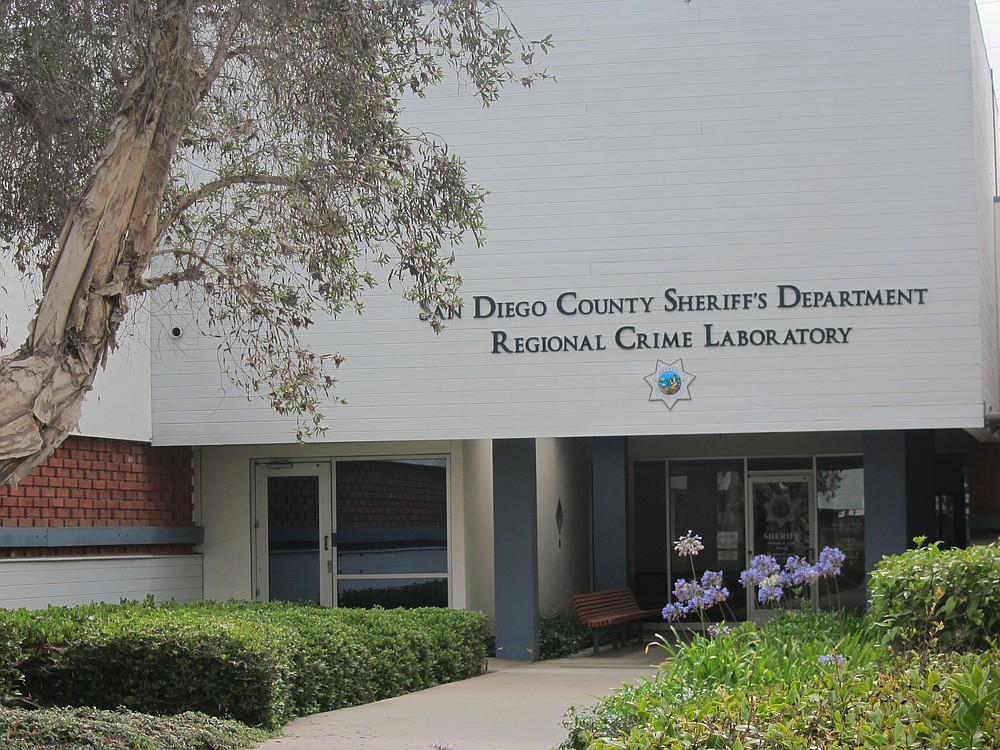 This old crime lab will be vacant prior to December. Staff began moving into the new Kearny Mesa lab in July.