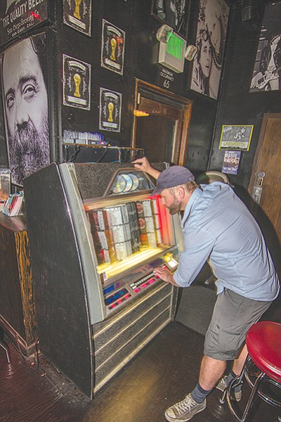 Small Bar jukebox is rife with late-60s and early 70s rock.