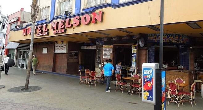 Nelson Bar at Hotel Nelson on Revolucion