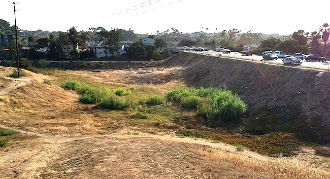 The land in question abuts Famosa and Nimitz Boulevards along Point Loma's entryway from the north