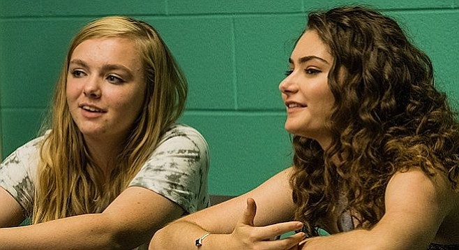 Relive 8th grade with Elsie Fisher and Emily Robinson.